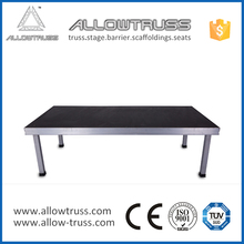 Containing cleat appearance 18mm plywood aluminum outdoor foldable stage