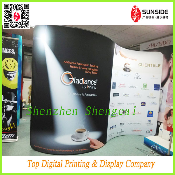 Fabric POP Up Banner / fast trade <strong>show</strong> with tension banner