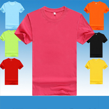 Wholesale plain t shirts for printing clothes men cheap custom printed t shirt