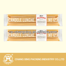transparent plastic food sachet for pasta packaging