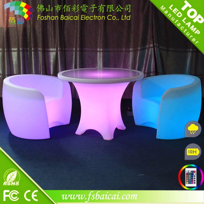 Modern design bar chair / led chair for party /event chair