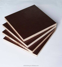 highly waterproof pine or Poplar Core Film Faced plywood for building