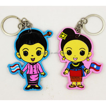 Unique style durable keychain make machine for girl
