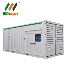 container genset 1mw large power soundproof diesel generator for sale