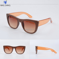 Various Sizes ODM Fashion Trendy Sun Glasses For Women All Brand Sunglass