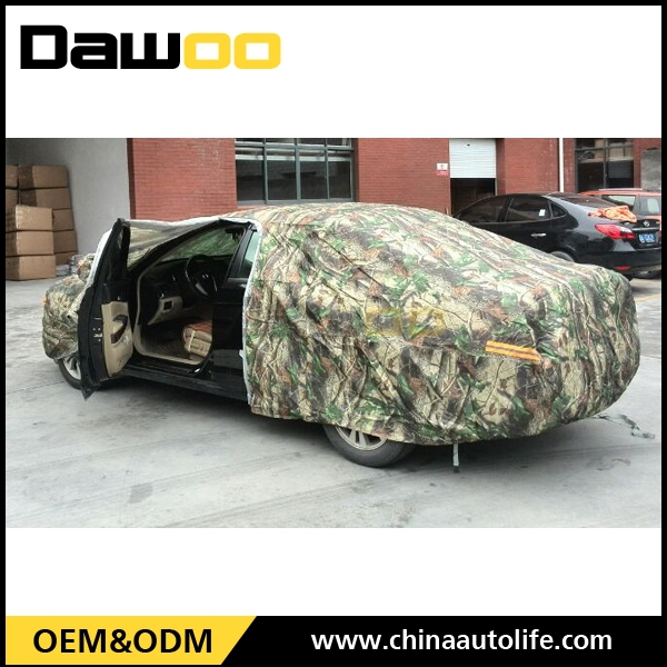 latest auto Military Camouflage Oxford Car Cover