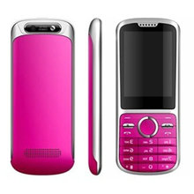 New arrival 2.4 inch metal body mobile phone dual sim cards k100