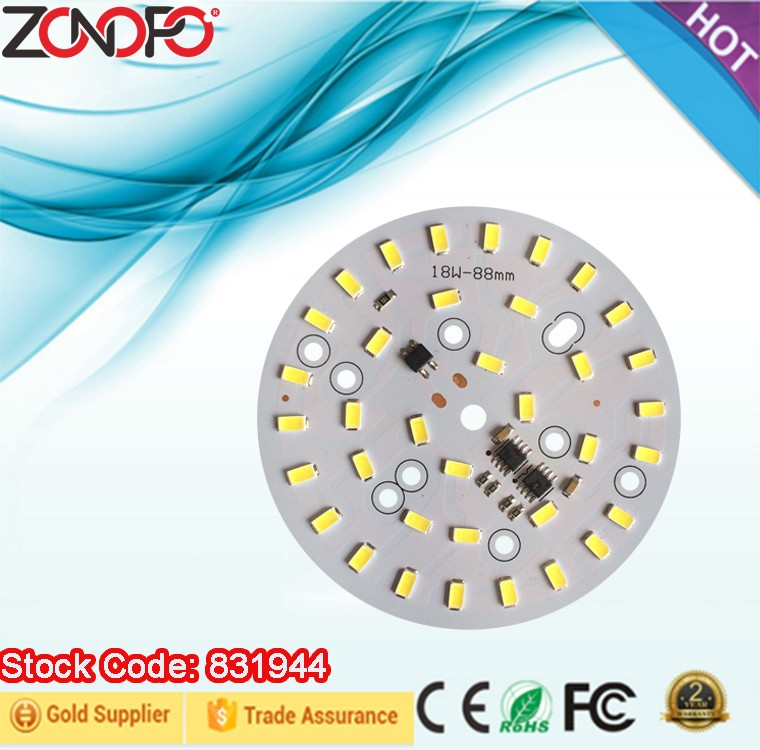 18w 3w 5w 7w 9w 12w 15w driver on board 120vac 220vac led bulb candle ceiling down light mos dimming ac lamp