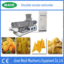 Crispy corn pellet chips extruder machinery