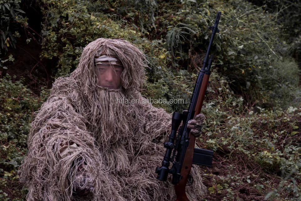 Hunting Leaf Ghillie Suit/ CS hunting blind suit/camouflage blinds