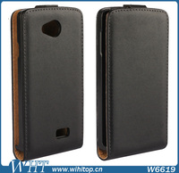 Hot New Products Magnetic Buckle Vertical Flip PC+PU Leather Case for LG F60