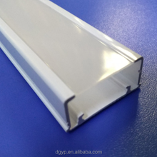 Extrusion Led Tube Housing Plastic Extruded Tubing Led Linear Lighting Fixture