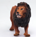 Wild Animals Lion PVC Figurines OEM/Simulation Animals Collectibles Toys/Custom Stuffed Animal Toys Plastic