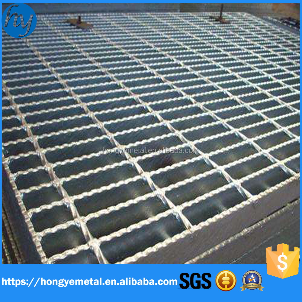 Standard Size Road Drainage Stainless Steel Floor Grating
