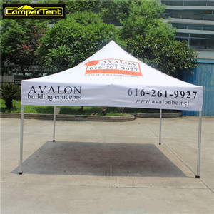 10x10 Custom aluminum easy up folding portable canopy beach tent for event