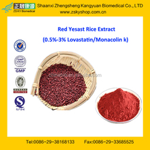 GMP Factory Supply Top Quality Red Yeast Rice Extract
