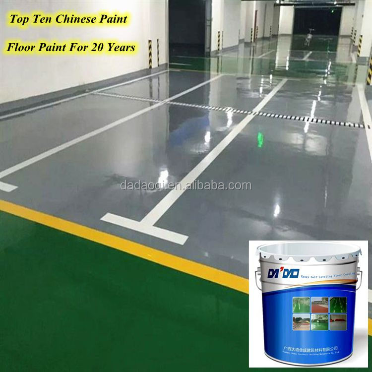Dustproof Wearing Resistant Anti Slip Industrial Epoxy Floor Paint Garage Flooring Coating