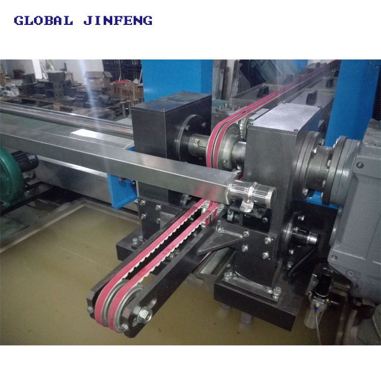 JFD-1016 automatic glass straight line double edging polishing buffing machine for sale