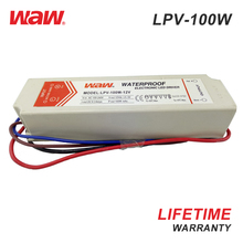 WODE Hot Selling 100W 48Vdc Constant Voltage Waterproof Led Driver With ROSH Certificate