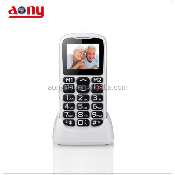 New arrival mobile phone for old age people SOS
