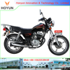 Hot sale in Tanzania and Yemen Togo Mali Guinea HOYUN New Version GN125 HJ125-8F motorcycles