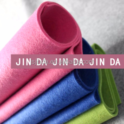 Hot sale PET polyester nonwoven fabric felt roll felt fabric rolls felt Manufacturer