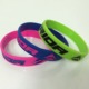 embossed band silicon bracelet glow in the dark silicone wristband