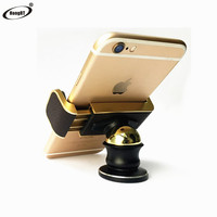 Universal 360 degree Car Mount Ball Sticky Magnetic Stand mobile phone holder in car