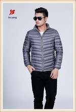 Boyang brand name customized duck down jacket for men