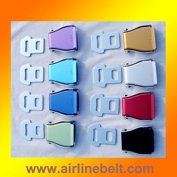High quality airplane safety belt buckle