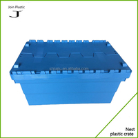 Heavy Duty 30kgs Corrugated Storage Plastic Hinged Moving Boxes