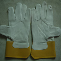 leather working safety gloves for construction