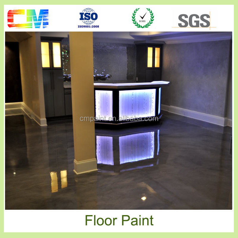 Epoxy 3d Metallic Epoxy floor Paint Primer Paint For Workshop