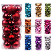 Wholesale 30mm Christmas Xmas Tree Ball Bauble Hanging Party Ornament Decor