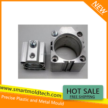 Aluminum die cast pipe connection moulds and parts making
