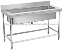 Square Stainless Steel Washing Table