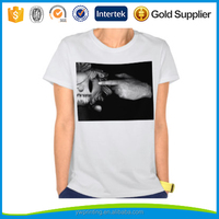 100% cotton promotion t shirt manufacturers, top tee white t-shirts
