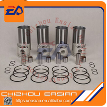High quality 3304 3306 liner kit engine cylinder sleeve kit with 3304 3306 piston kit 8N3180 8N3182