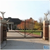 Custom height and colors iron pipe gate design Without welding