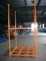 Collapsible steel rack