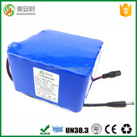 Rechargeable 26.4ah 3S12P 18650 li-ion battery pack 11.1V with PCB