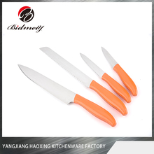 HX-SL39 Bidmeiy stainless steel paring knife with orange pp handle