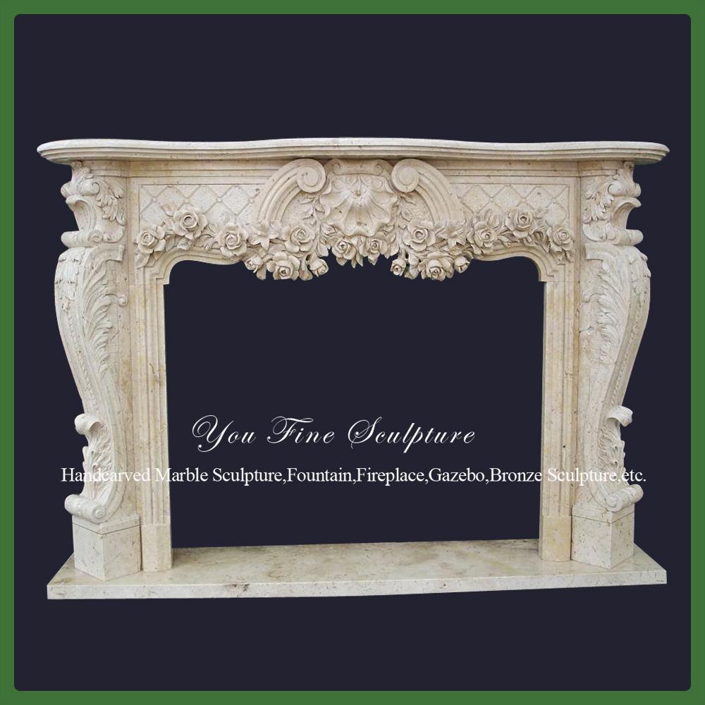 Indoor Decorative Stones : Carved indoor decorative stone pink fireplace buy