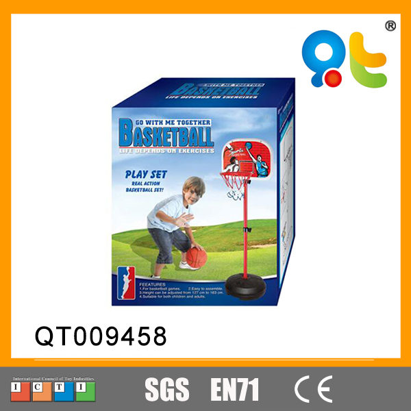 Outdoor sports mini kids lift basketball stand backboard game equipments