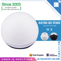 The most popular products on China market music mini bluetooth speaker with led light