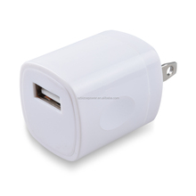 Amazon top selling dual usb 2.1a home wall charger adapter folding us plug mobile phone fashinal charger for iphone