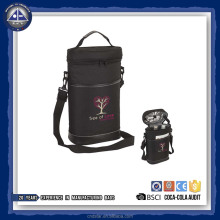 Stylish Double-Bottle Wine Carrier Cooler Bag