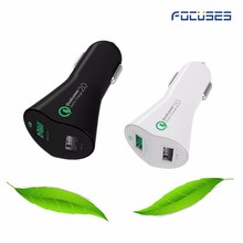 Fast Charging smart electric AC12-24V usb carcharger 2A dual usb cell phone car charger
