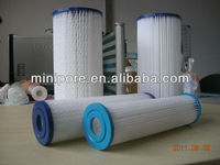 20''Paper pleated Filter Cartridge for water filtration with 50micron