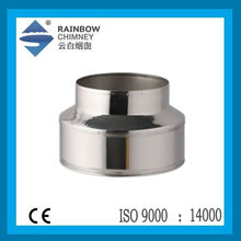 CE and stainless steel stove chimney pipe chimney pipe fittings